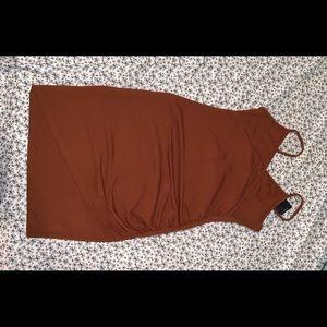 Chestnut dress